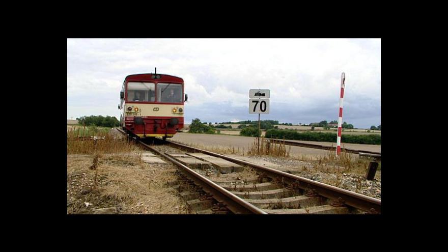 Video Boj o cestující na železnici tématem Ekonomiky ČT24
