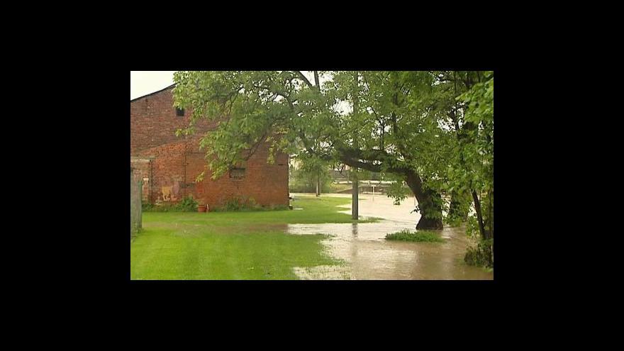 Video Situace na moravských řekách