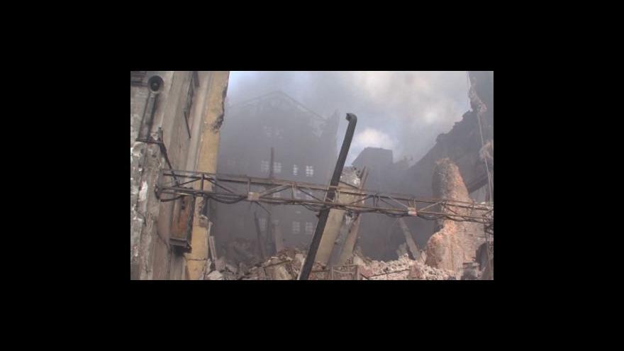 Video Ivo Mitáček, mluvčí hasičů Zlínského kraje k situaci v Chropyni