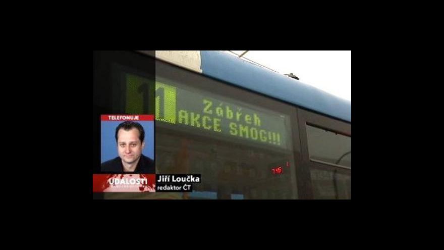 Video Telefonát Jiřího Loučky