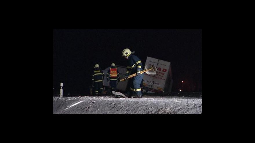 Video Nehoda u Horních Mošenic