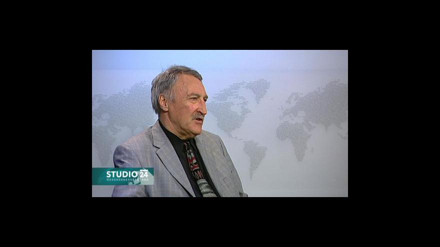 Video Milan Taraba ve Studiu ČT24