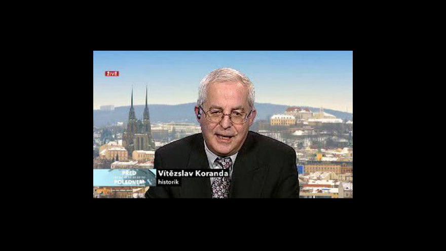 Video Rozhovor s Vítězslavem Korandou