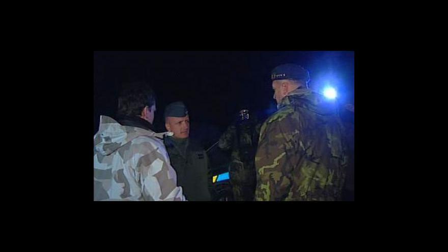 Video Na Třebíčsku spadl armádní letoun