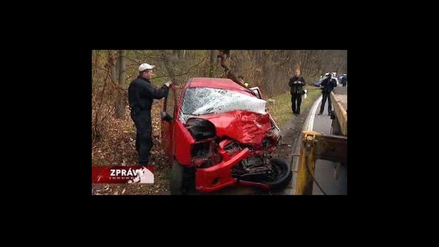Video V Ostravě se při nehodě zranilo devět lidí