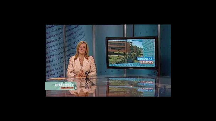 Video Události, komentáře o brněnském kampusu