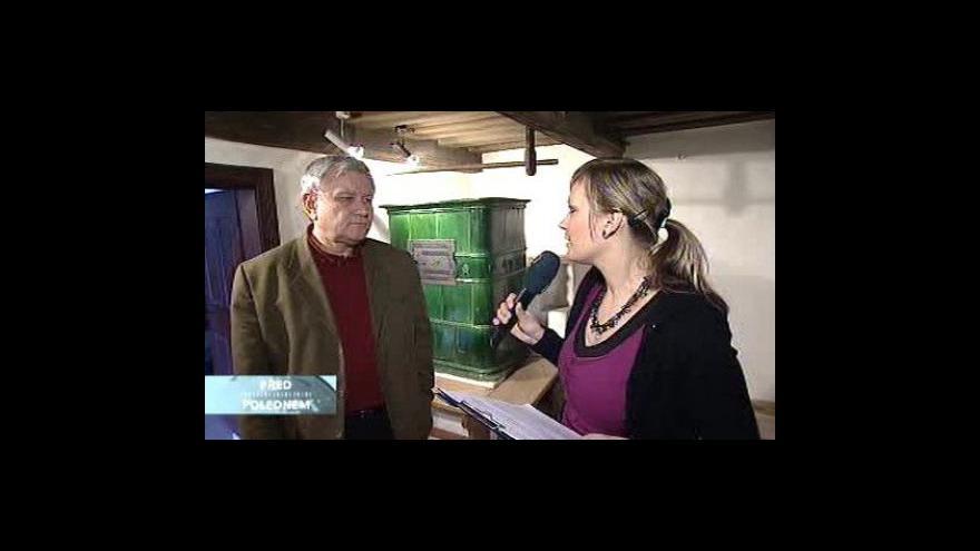 Video Ředitel muzea František Korvas ve Studiu ČT24
