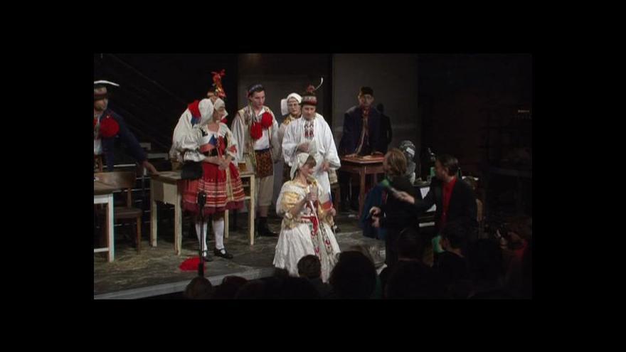 Video Protest divadelníků v Brně