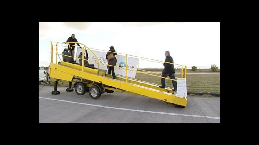 Video Policejní akce Bezpečné pásy u Vyškova