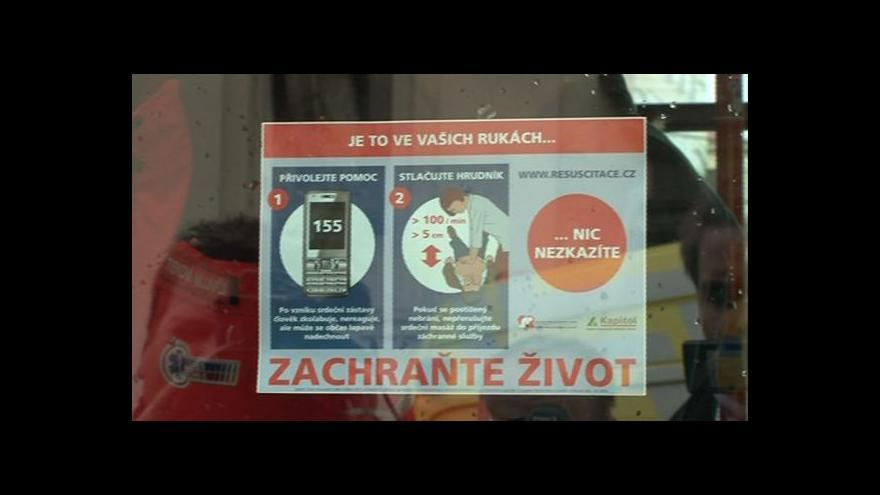 Video Mluvčí jihomoravských záchranářů Barbora Zuchová o samolepkách