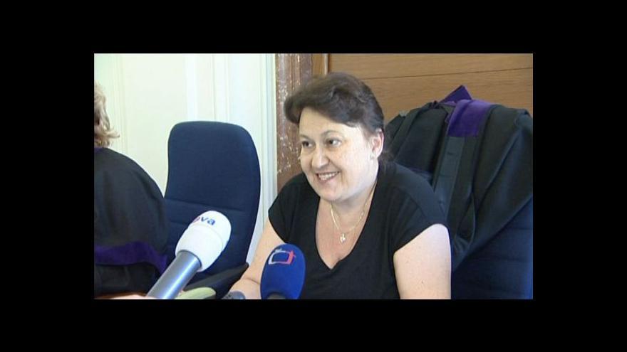 Video Soudkyně k překvapivému rozsudku nad podvodnicí