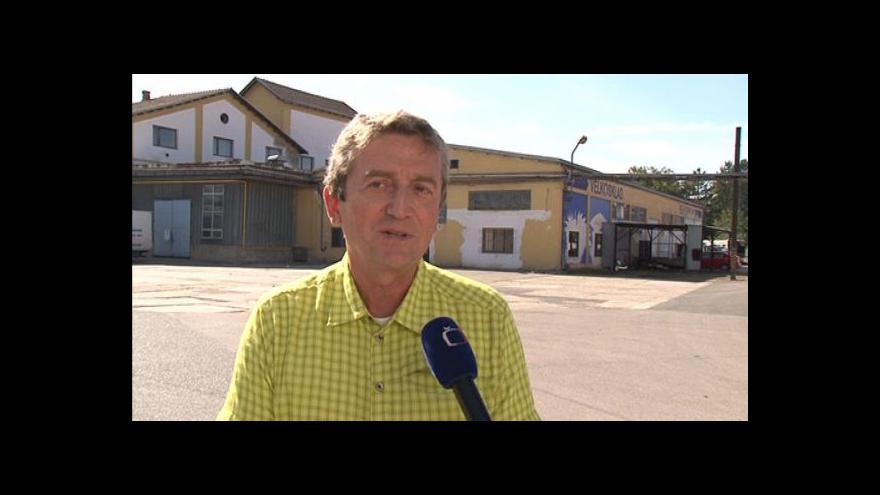 Video Martin Jedlička, ředitel ICEC Šlapanice k letité ekologické zátěži města