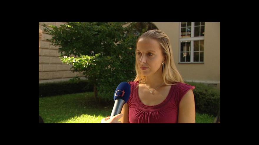 Video Mluvčí ministerstva spravedlnosti Tereza Palečková