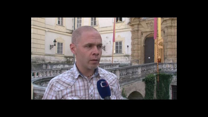 Video Kastelán valtického zámku Michal Tlusták o tom, co mohou návštěvníci vidět
