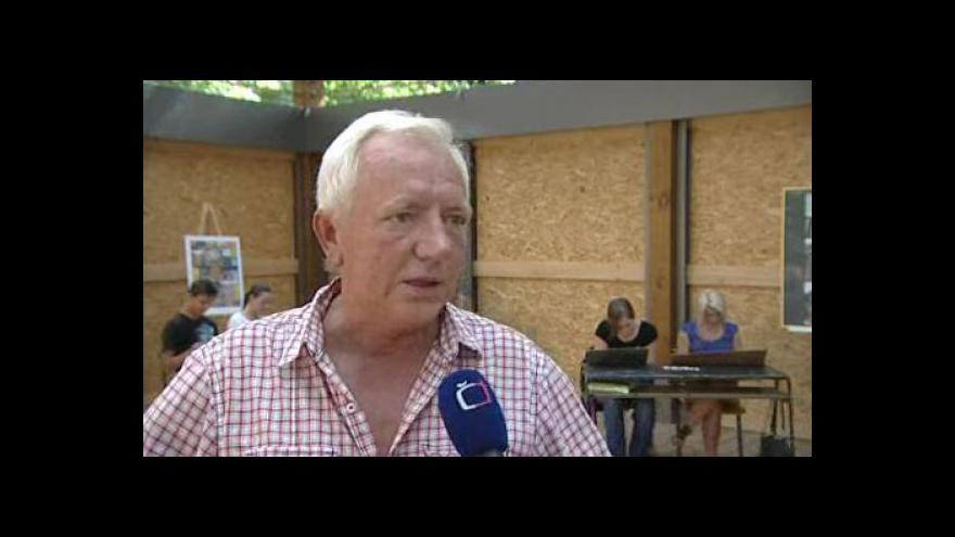 Video Ředitel gymnázia Josef Drobilič o využití pavilonu