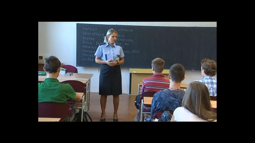Video Zástupci národnostních menšin studují na policisty
