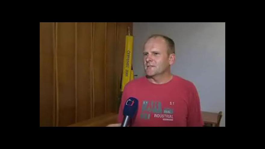 Video Starosta Částkova Pavel Štěpančík (nez.) o vyhořelém domě
