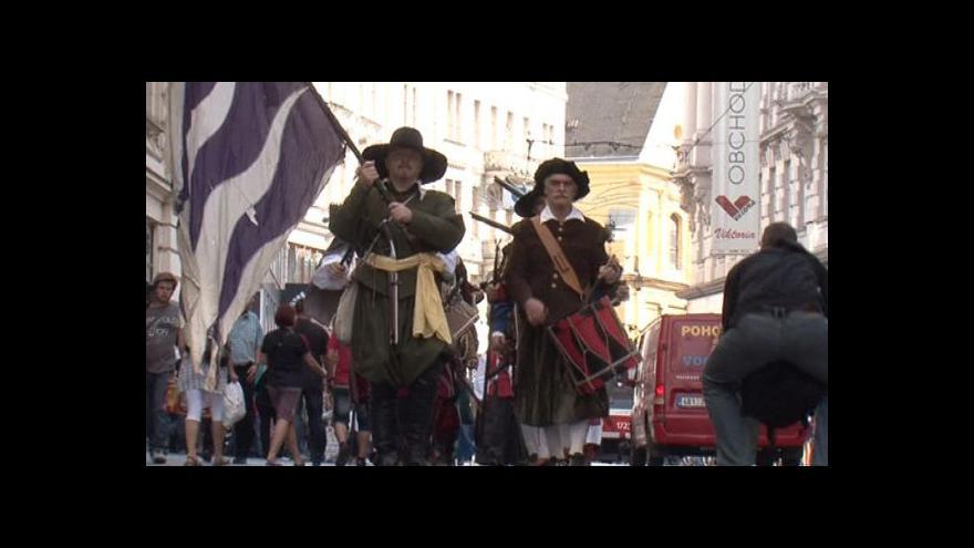 Video Oslavy dne Brna odstartovaly v pátek pochodem městské pohotovosti