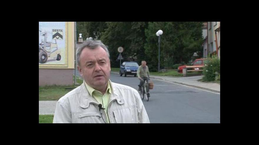 Video Vedoucí SÚS v Hodoníně Martin Bedrava o rekonstrukci silnice v Ratíškovicích
