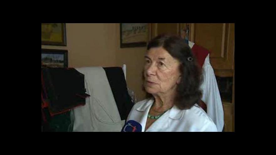 Video Etnografka Věra Kovářů o rekonstrukci březnického kroje