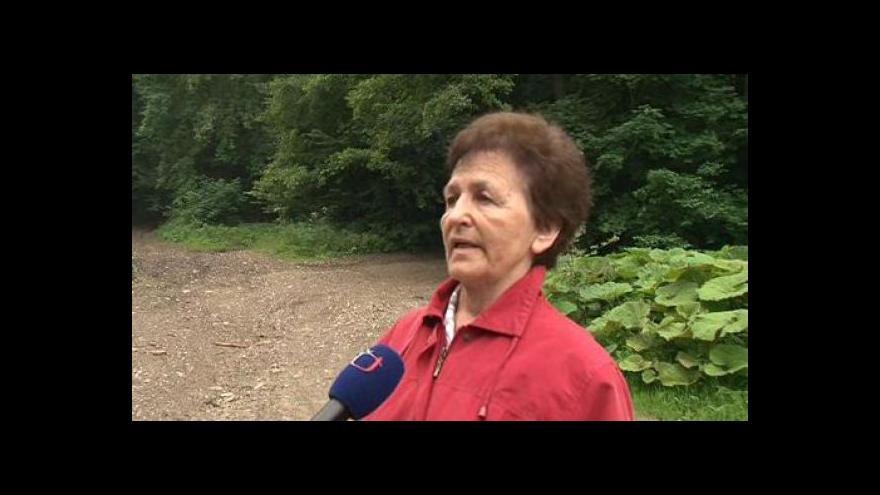 Video Jednatelka veličských lesníků Anna Bobčíková a sporech s Lesy ČR