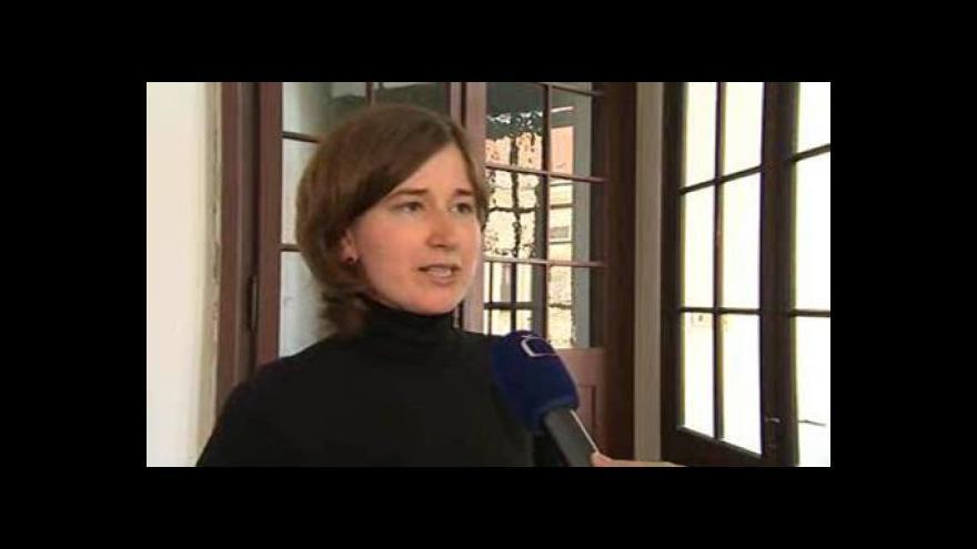 Video Správkyně knihovny a sbírky obrazů Jana Zapletalová o obrazu