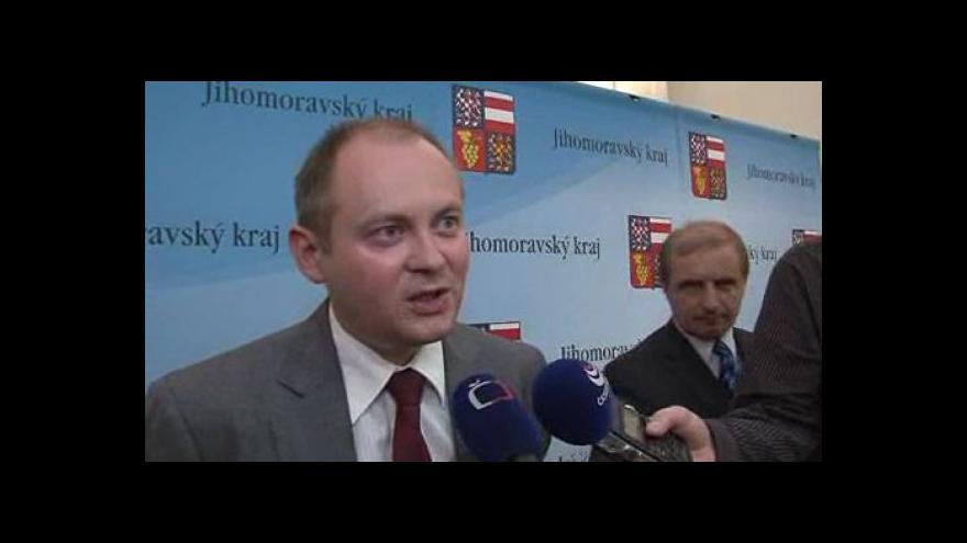 Video Jihomoravský hejtman Michal Hašek o zřízení firemní školky