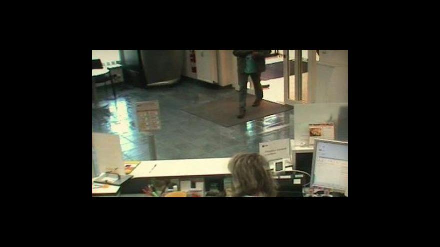 Video Pachatele zachytily bezpečnostní kamery