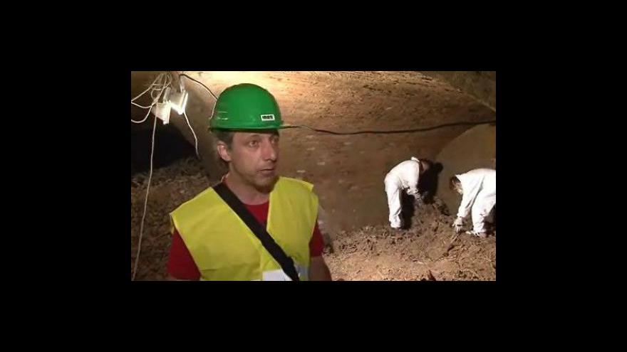 Video Odborník na brněnské podzemí Aleš Svoboda o nalezených rakvích