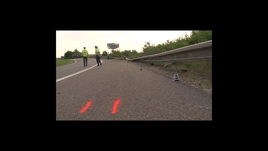 Video NO COMMENT: Místo tragické nehody