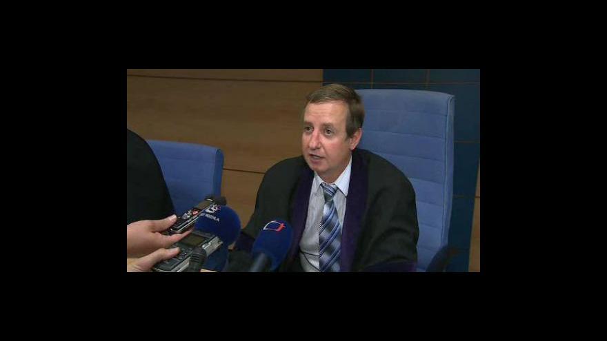 Video Předseda trestního senátu Radomír Koudela
