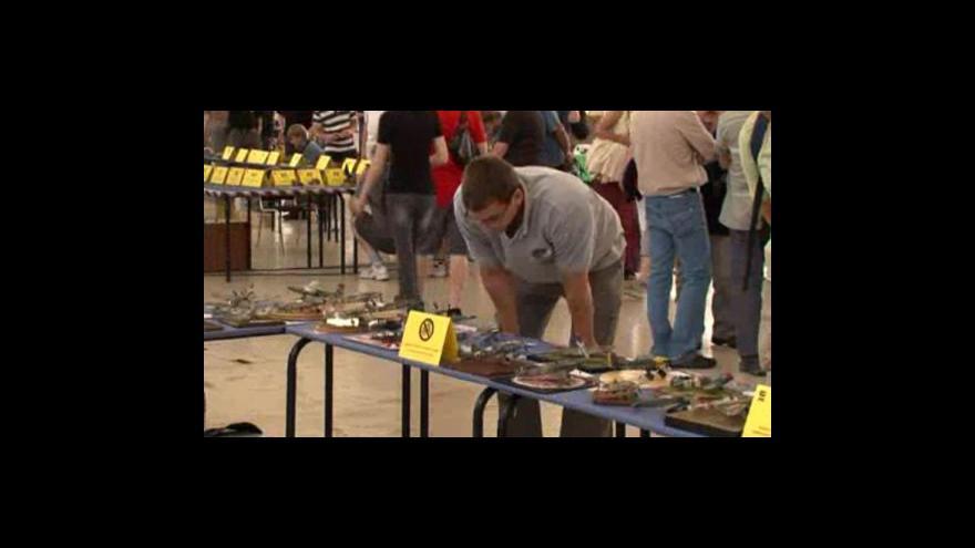 Video Výstava ModellBrno 2011 na brněnské výstaviště přilákala zástupy lidí