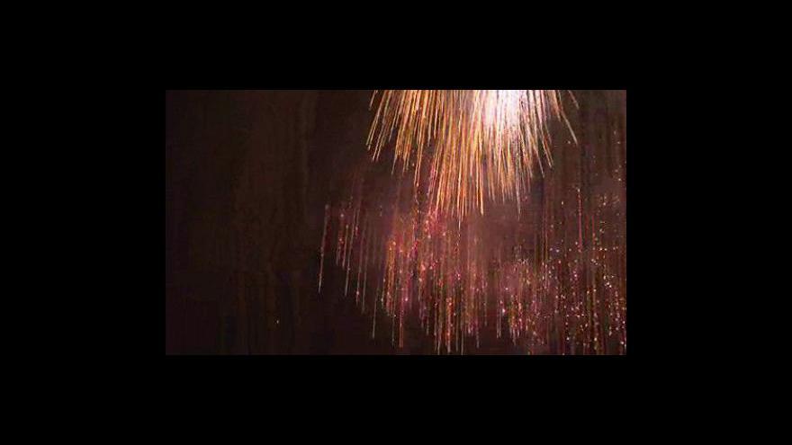 Video No comment: Ukázka vítězného ohňostroje