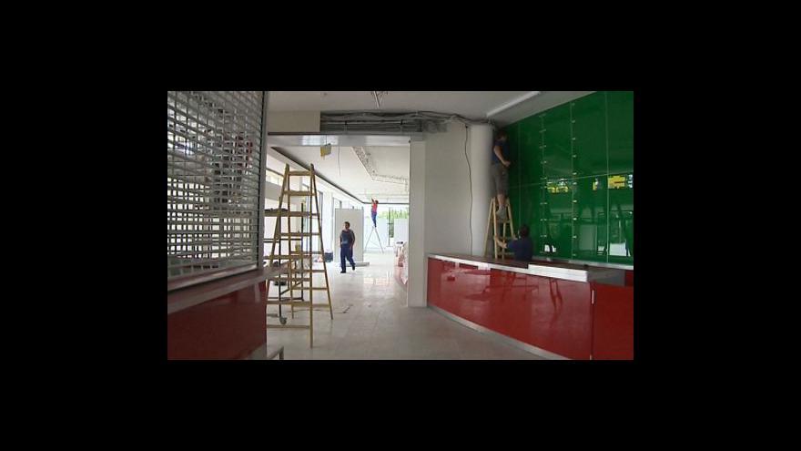 Video Rekonstrukce kroměřížského kina Nadsklepí