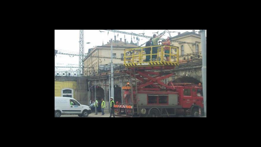 Video NO COMMENT: Dopravní kolaps v Brně
