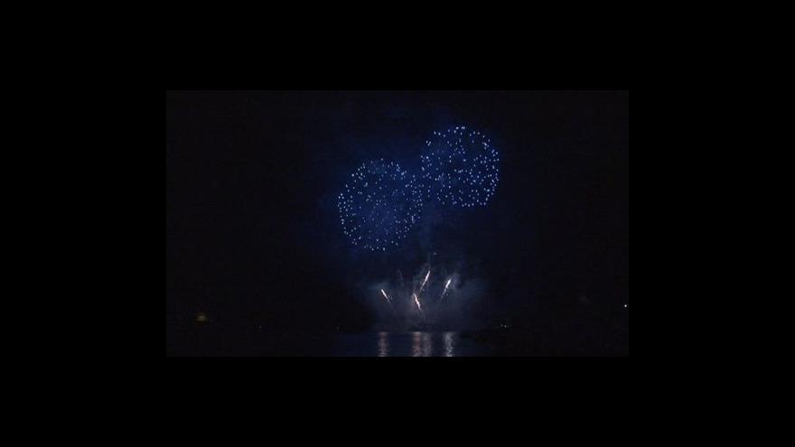 Video No comment: Představení francouzských pyrotechniků
