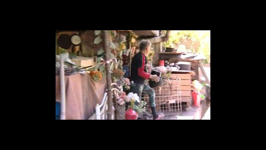 Video Všechno mám ze smetiště, říká Karel Kašpařík