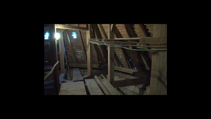 Video Střecha bořetického kostela je v havarijním stavu