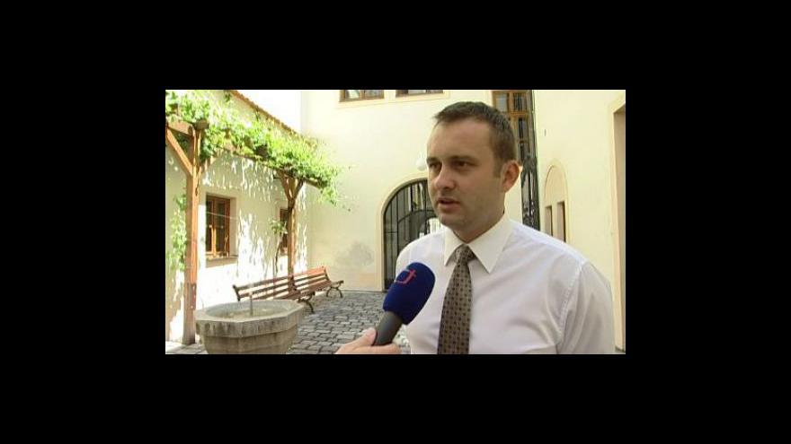 Video Místostarosta Znojma Jan Grois (ČSSD) k výběrovému řízení na organizátora vinobraní