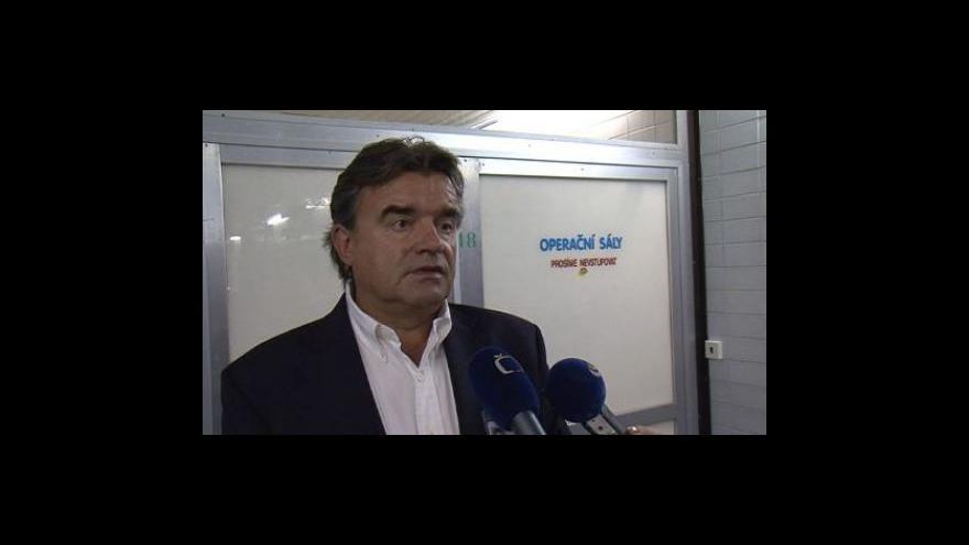 Video Ředitel Fakultní nemocnice Brno Roman Kraus o důvodech omezení příjmu neobjednaných pacientů