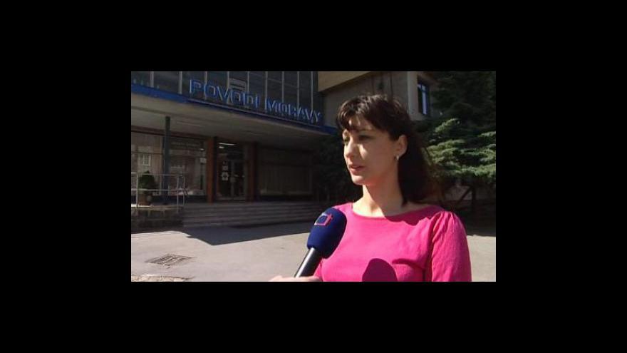 Video Mluvčí Povodí Moravy Veronika Hrdá o odtěžování sedimentů