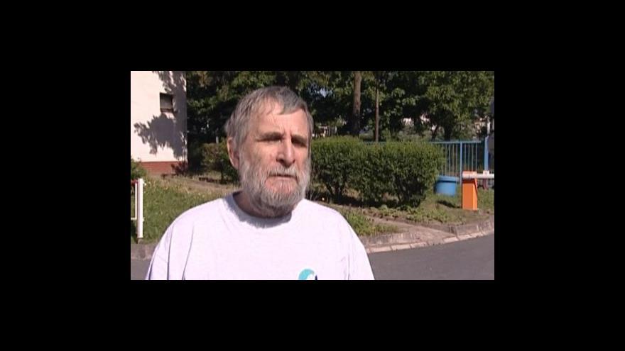 Video Potapěčský instruktor Michal Piškula kritizuje záměr oplocení lomu