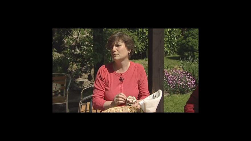 Video Milada Válková o výrobě hroznového želé