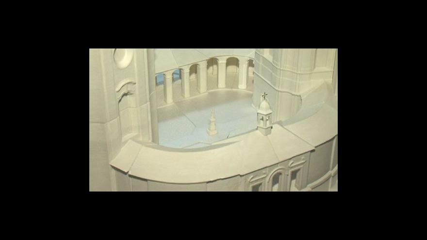 Video Architekt Zdeněk Fránek o možném využití nové části chrámu