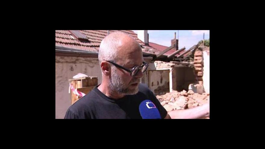 Video Architekt a obyvatel Kamenné čtvrti Petr Hurník o zbourané památce