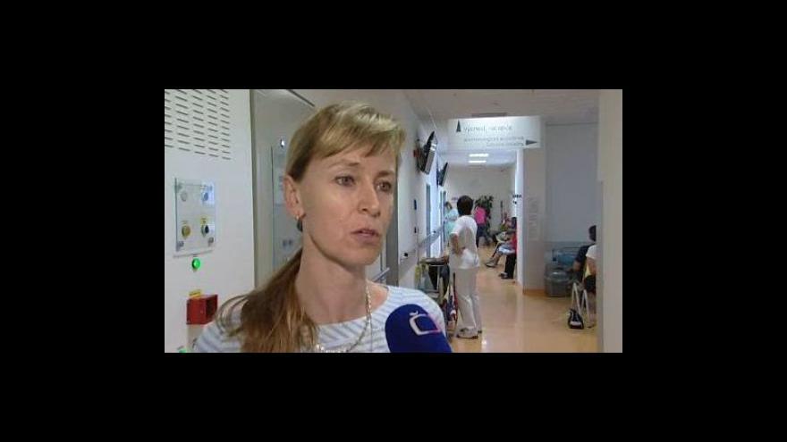 Video Ředitelka blanenské nemocnice Vladimíra Danihelková o jednodenní chirurgii