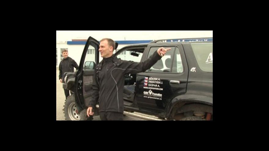 Video Jaroslav František o plánované cestě