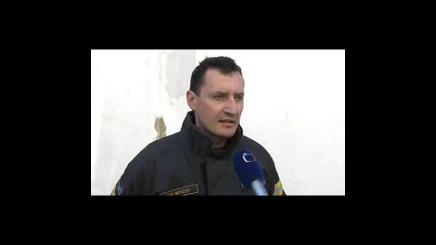 Video Mluvčí zlínských hasičů Ivo Mitáček o provedené kontrole podniku před požárem