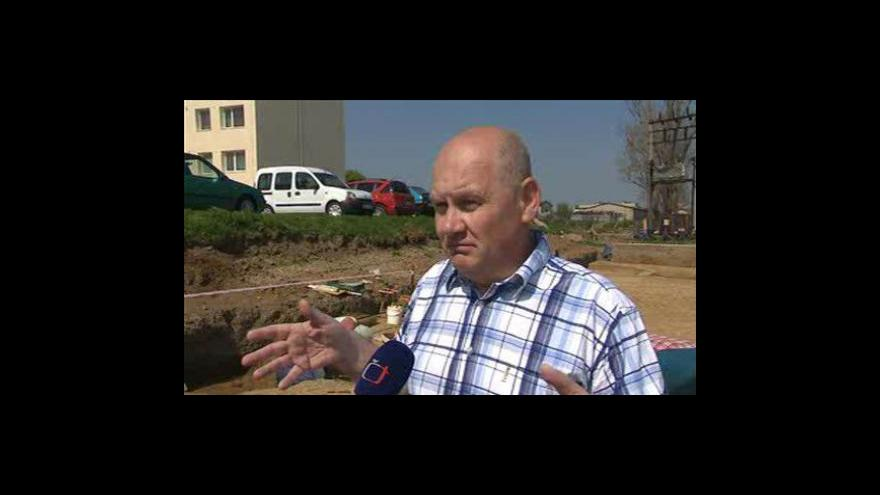 Video Luděk Galuška z Moravského Zemského muzea o nálezu hrobu