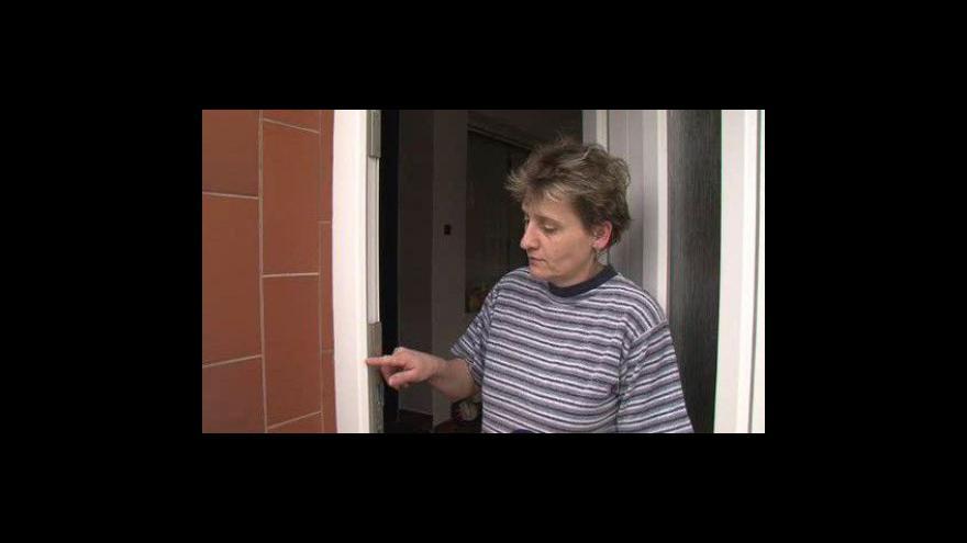 Video Obyvatelka Tuřan Pavlína Ambrozová o pokusu vloupání do jejího domu